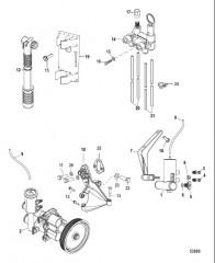Схема Система слива воды