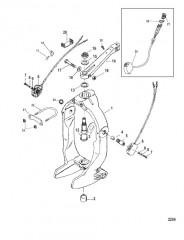 Схема Кольцо кардана и рычаг рулевого механизма
