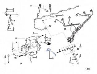 Схема Впрыск топлива (Все электрические двигатели)