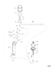 Масляный фильтр и переходник
