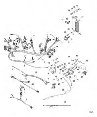 Схема Электрические компоненты (Электромагнит / PCM)
