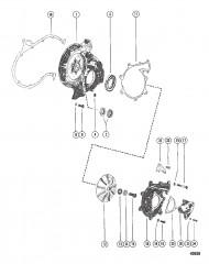 Схема Передняя крышка