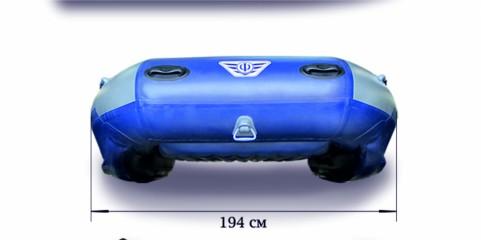 Надувной катамаран «ФЛАГМАН - 380К»