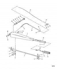 Компоненты рукоятки рулевого механизма (С рычагом рулевого механизма)