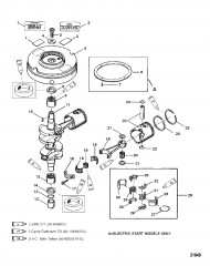 Crankshaft, Pistons and Flywheel