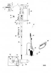 Схема Двигатель для тралового лова в сборе (TR70PFBD) (24 В)