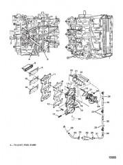 Пластина пластинчатого клапана / система рециркуляции