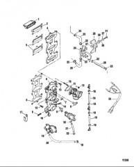 Схема Комплект пусковой системы с поворотным ключом (Стр. 1 из 3)