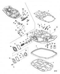 Схема Пластина выхлопа