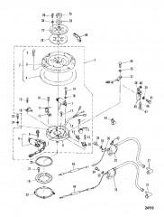 Схема МАХОВИКОВЫЙ МАГНЕТО В СБОРЕ