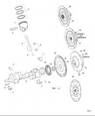 Компоненты коленчатого вала / поршня и соединительной муфты