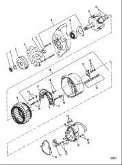 Схема ГЕНЕРАТОР (MANDO №AR-150)