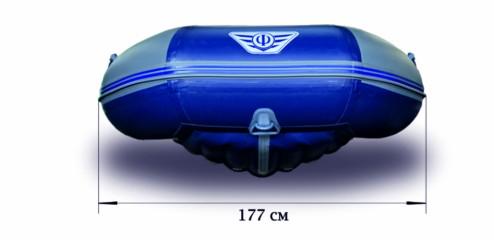 Моторная надувная лодка «ФЛАГМАН - 380»