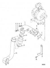 Схема EXHAUST PIPE