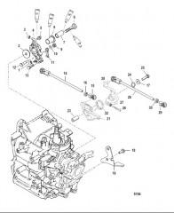 Схема Компоненты набора прокладок Капитальный ремонт двигателя