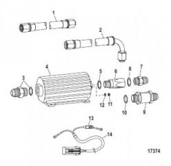 Топливный насос (выносной) (Конструкция I)