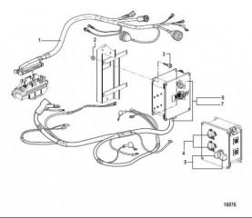 Схема Распределительная коробка и компоненты
