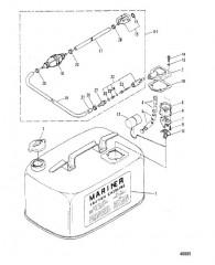 ТОПЛИВНЫЙ БАК (M-019155/ML-318599/E-104325/EL-409500