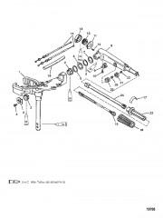 Схема Поворотная головка и рукоятка рулевого механизма
