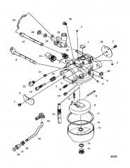Схема Карбюратор (Модель на 15 л.с.) (1300-F715061-1)