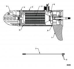 Нижний блок в сборе (FW75L – переменная)(8M0052758)
