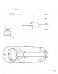 Схема электрических подключений (Модель TT2500) (12 В)