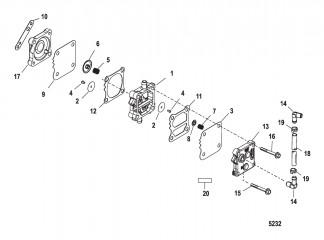 Схема Топливный насос
