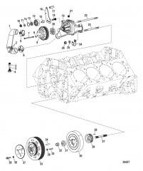 Компоненты двигателя (Водяной насос)