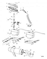 Схема Двигатель для тралового лова в сборе (Беспроводные модели) (12/24 В)