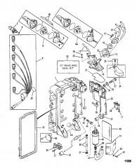 Схема Система контроля топлива (Перечень деталей)
