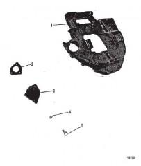 Схема Коленчатый вал, поршни и шатуны (460)
