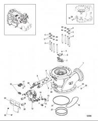 Схема Направляющая вала, POD QSB, QSC