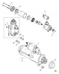 Схема Комплект тяги сдвоенного двигателя