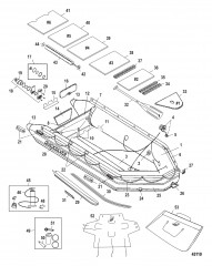 Схема Модель Sport XS 470 (Светло-серый – алюминиевый настил)