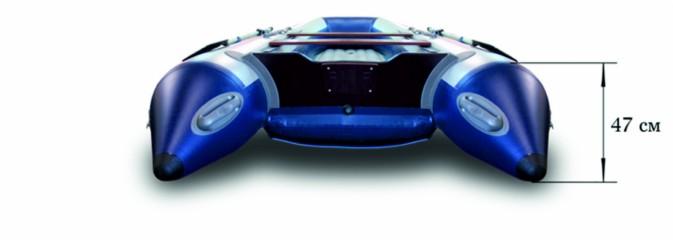 Моторная надувная лодка «ФЛАГМАН - 360U»