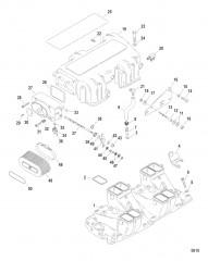 Впускной коллектор / камера и компоненты