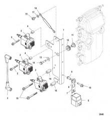 Схема Катушка зажигания С/н USA-0T980000/BEL-0P325500 и выше