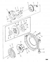 Схема Корпус маховика (Поворотно-откидная колонка)