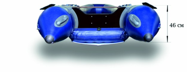 Моторная надувная лодка «ФЛАГМАН - 420IGLA» Изображение 6