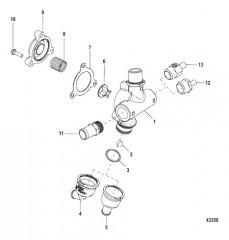 Схема Перепускной клапан в сборе