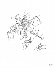 Carburetor (SeaPro/Marathon 25/ Super15)