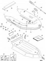 Надувные лодки Dynamic из ПВХ – 260/280/310 (Quicksilver 2010/11)