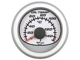 УКАЗАТЕЛЬ ТЕМПЕРАТУРЫ МАСЛА (метрический)(белый)