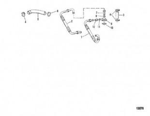 Схема Маслопроводы (5-ЦИЛ.)