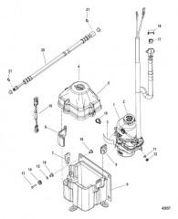 Комплект насоса – рулевой механизм с усилителем (4-24 фт.)