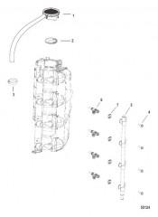 Схема Встроенный блок воздуха/топлива