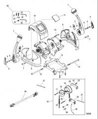 Пульт управления яхтой – DTS Сдвоенный газ