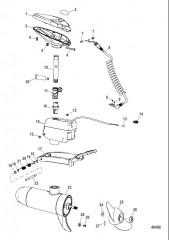 Двигатель для тралового лова в сборе (Модели для соленой воды)(конструкция II)