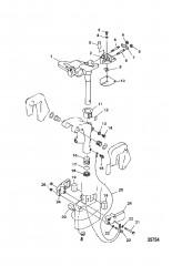 Кронштейн рулевого механизма