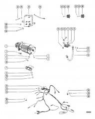 Схема Стартер и электропроводка